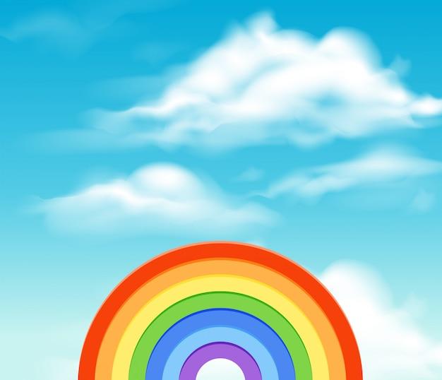 Regenbogen Aktion Kinder Malen Einen Regenbogen 9