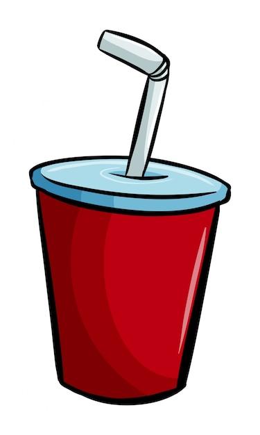 Eine soda zum molchen Kostenlosen Vektoren