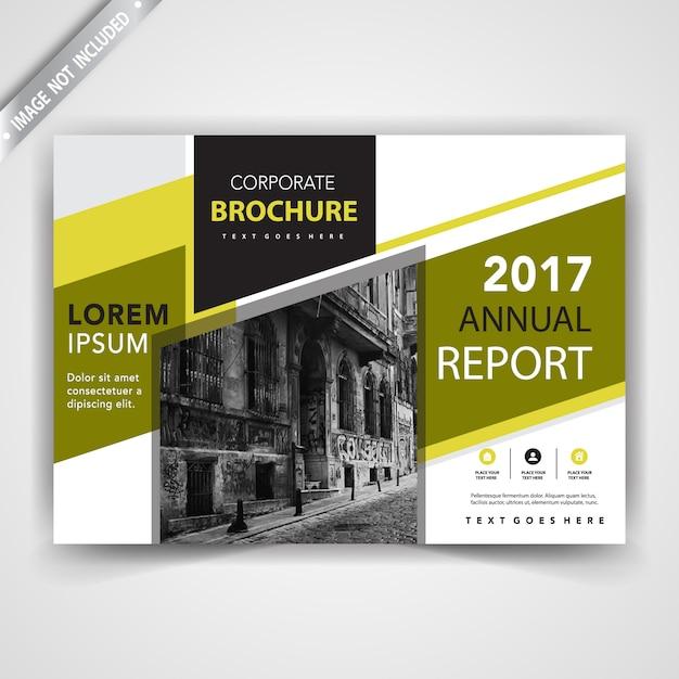 Einfache Broschüre Deckblatt Vorlage   Download der kostenlosen Vektor