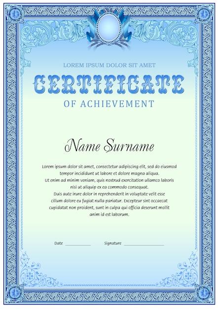 Beste Kostenlose Schulung Zertifikatvorlage Bilder - Bilder für das ...