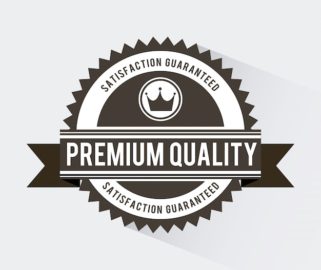 Einkaufsdesign über weißer hintergrundvektorillustration Premium Vektoren