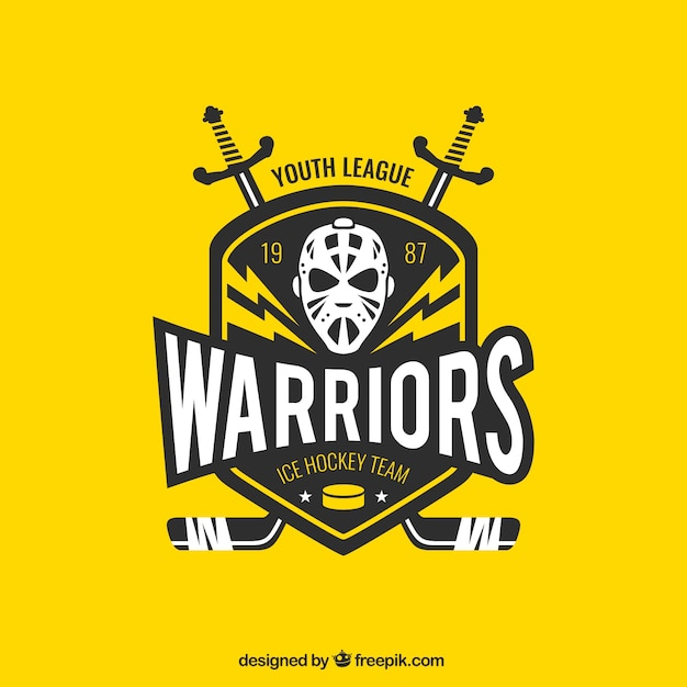 Eishockey-team Kostenlosen Vektoren