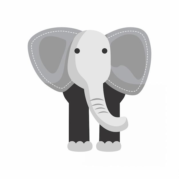 Elefant - tier niedlich Premium Vektoren