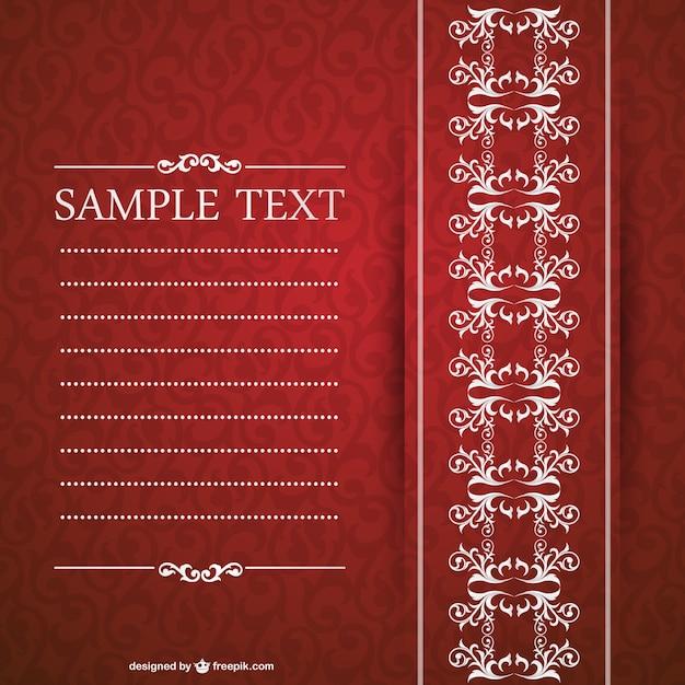 Elegante Einladung Design  Download der kostenlosen Vektor