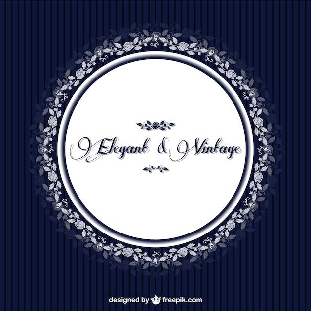 Elegante Vektor Retro Einladung Design  Download der kostenlosen ...
