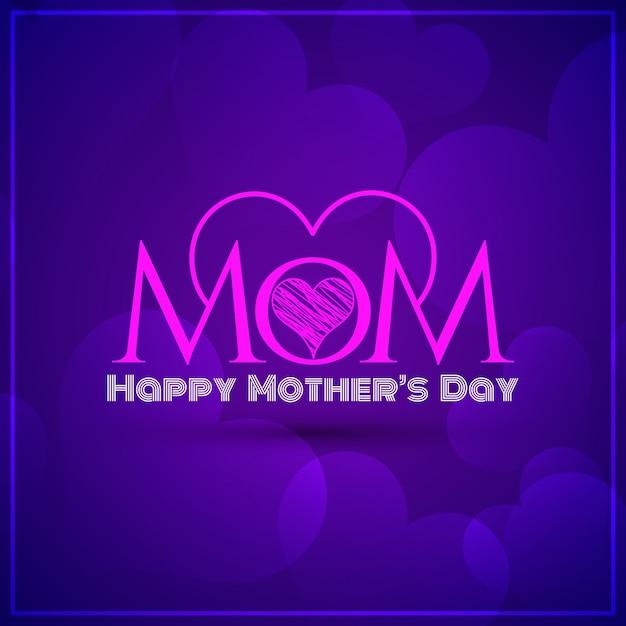 Elegante violette Farbe Mütter Tag Hintergrund   Download der ...