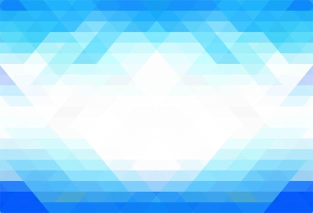 Eleganter blauer geometrischer formhintergrund Kostenlosen Vektoren