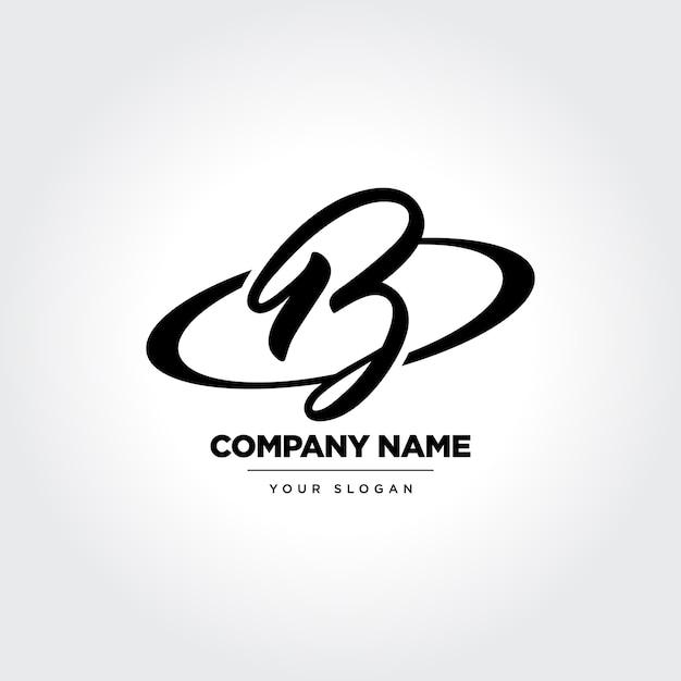 Eleganter buchstabe b icon design Premium Vektoren