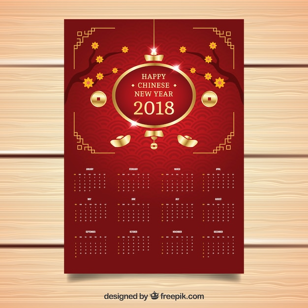 eleganter dunkelroter chinesischer kalender des neuen jahres download der kostenlosen vektor. Black Bedroom Furniture Sets. Home Design Ideas