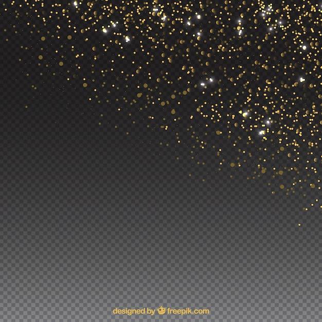Eleganter glitterpartikelhintergrund Kostenlosen Vektoren