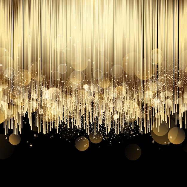 Eleganter hintergrund mit luxusgolddesign Kostenlosen Vektoren