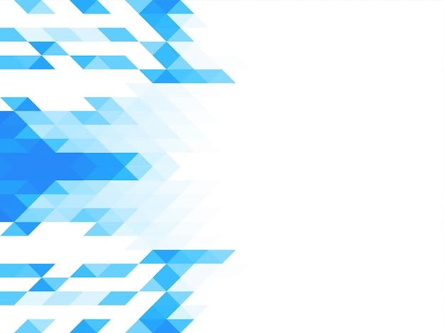 Eleganter mosaikhintergrund des dreieckmusters Kostenlosen Vektoren