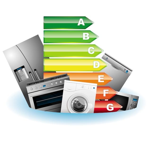 Elektrische energie Premium Vektoren