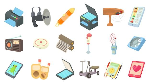 Elektrogerät-icon-set Premium Vektoren