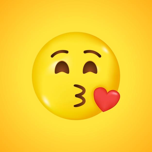Schickt smiley mann piasepnacan: kuss Kuss smiley