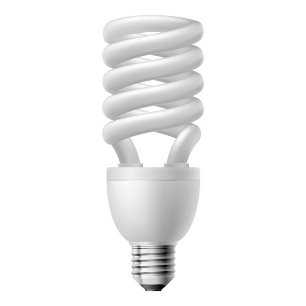 Energiesparlampe Premium Vektoren