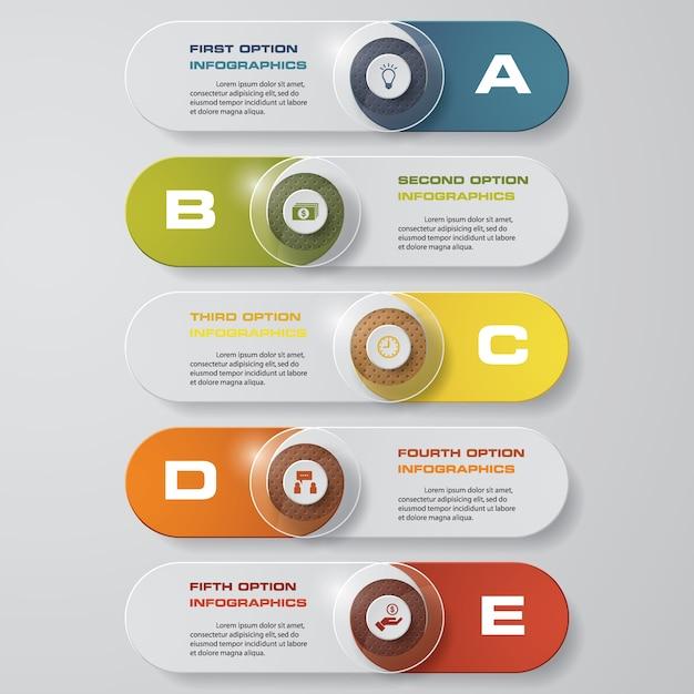 Entwerfen Sie saubere Zahl Banner Vorlage. Vektor.   Download der ...