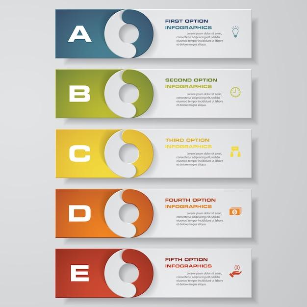 Entwerfen Sie saubere Zahl Banner Vorlage   Download der Premium Vektor