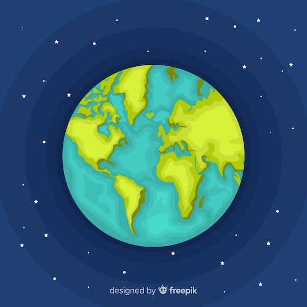 Erde hintergrund Kostenlosen Vektoren