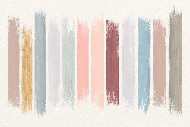 Erdfarben pinselstriche Kostenlosen Vektoren