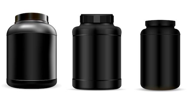 Ergänzungsflasche Premium Vektoren