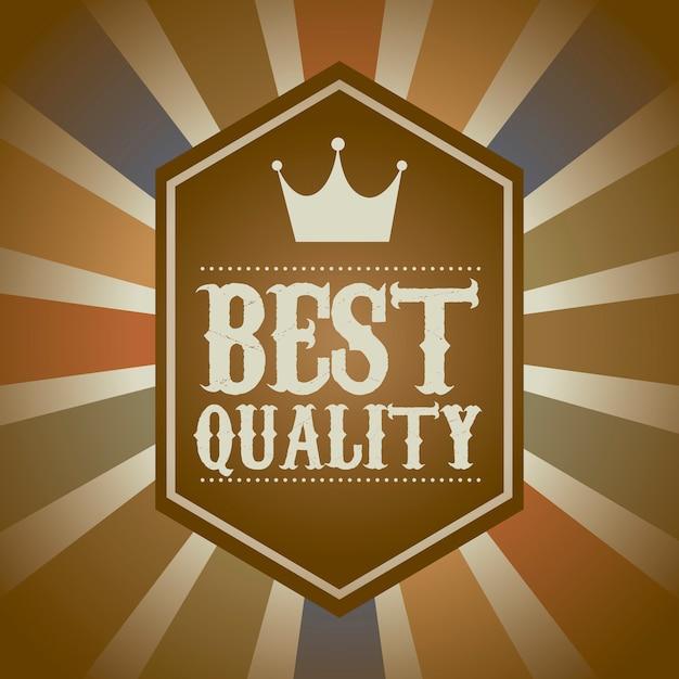 Erstklassige qualität über weinlesehintergrund-vektorillustration Premium Vektoren