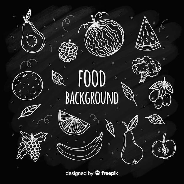 Essen hintergrund Kostenlosen Vektoren