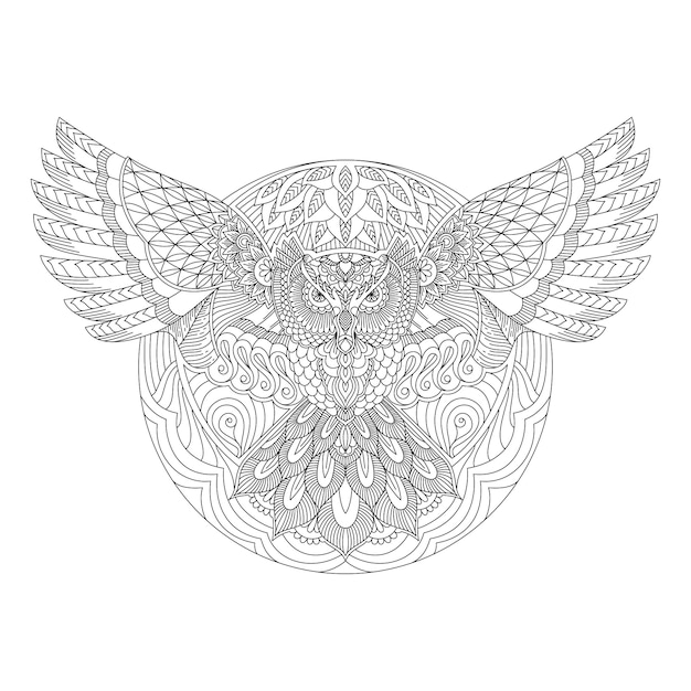 eule mandala  temporare tattoos temporary tattoo fake