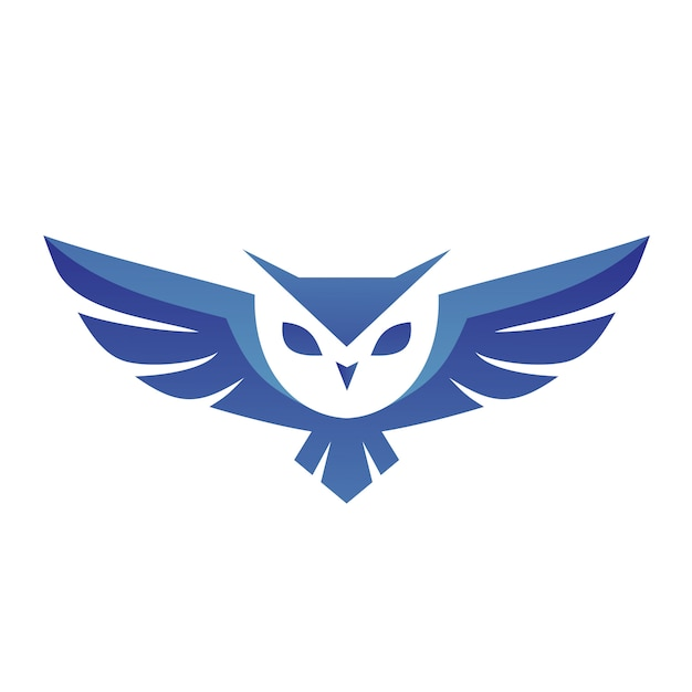 Eulen-logo-vektor Premium Vektoren