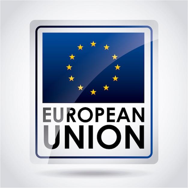 Europäische union Premium Vektoren