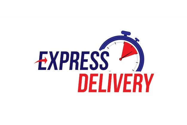 Expressversand-tag Premium Vektoren