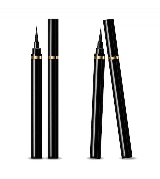 Eyeliner realistisch Premium Vektoren