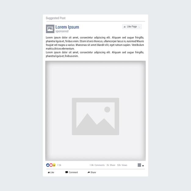 Ausgezeichnet Facebook Post Vorlage Bilder - Entry Level Resume ...