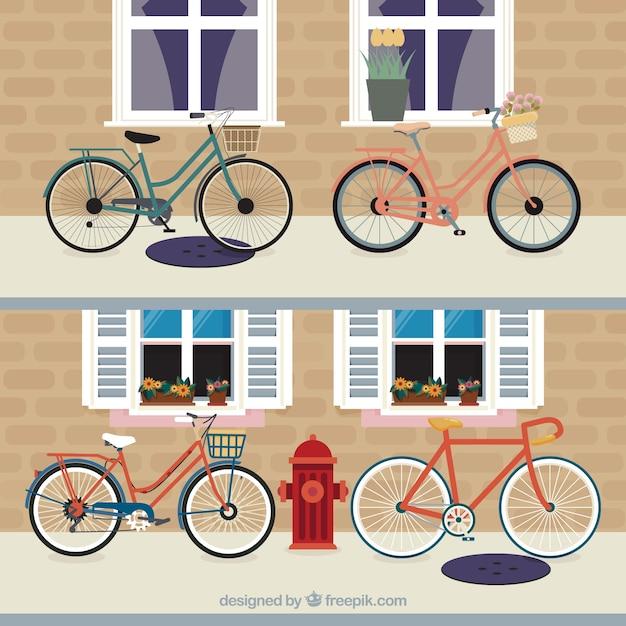 fahrrad pack download der kostenlosen vektor. Black Bedroom Furniture Sets. Home Design Ideas