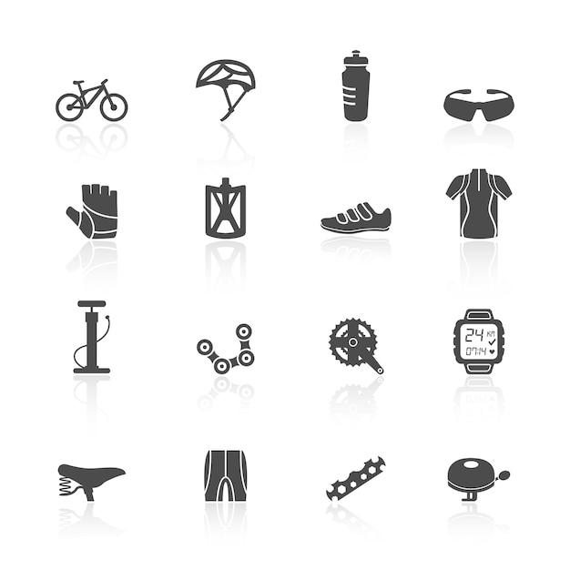 Fahrrad-symbole Kostenlosen Vektoren