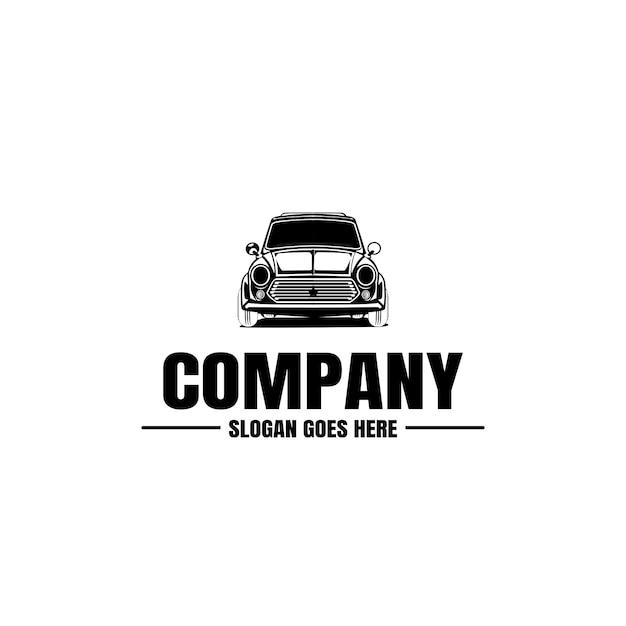 Fahrzeug-logo-vorlage. auto-symbol für unternehmen. miete, reparatur, werkstatt. Premium Vektoren