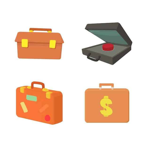 Fall-icon-set Premium Vektoren
