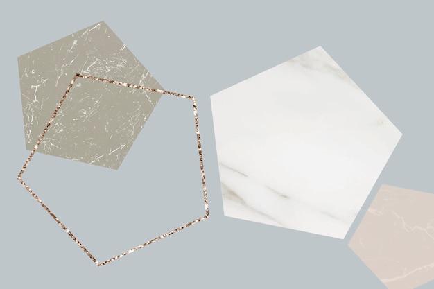 Fantastischer gemusterter marmorhintergrund Kostenlosen Vektoren