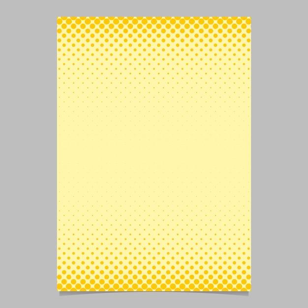 Farbe abstrakte Halbton Kreis Muster Karte Vorlage - Vektor Flyer ...