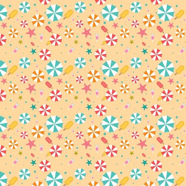 Farbige Sommer-Muster | Download Der Kostenlosen Vektor