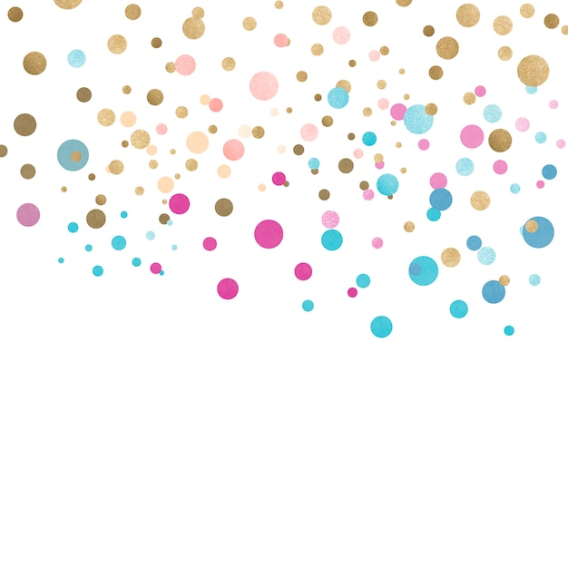 Feierliches design des bunten konfetti Kostenlosen Vektoren