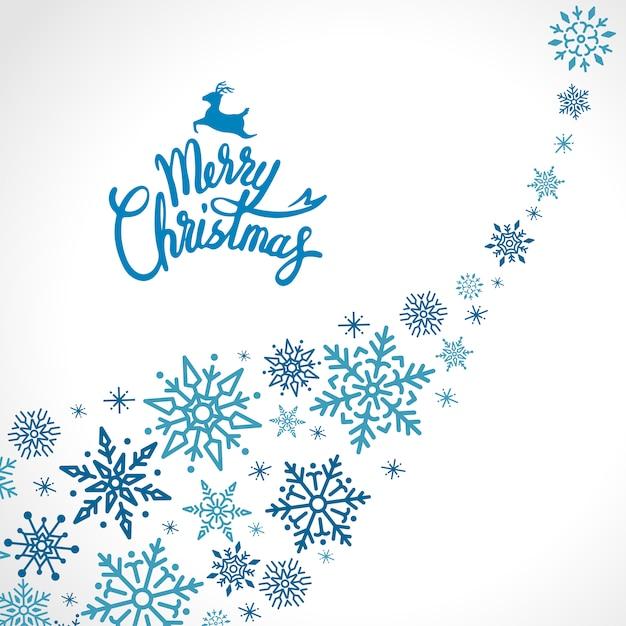 Feiertagsdesign-hintergrund der frohen weihnachten Kostenlosen Vektoren