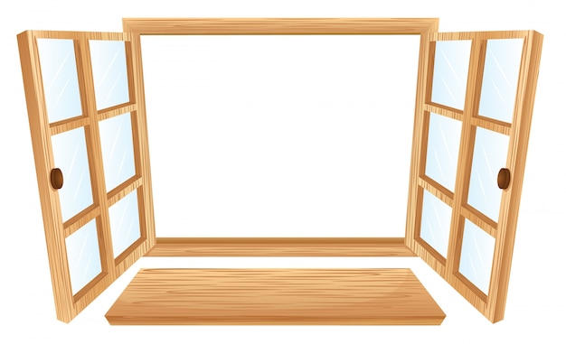 Fenster öffnen Kostenlosen Vektoren