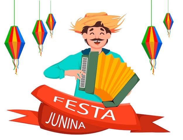 Festa junina Premium Vektoren