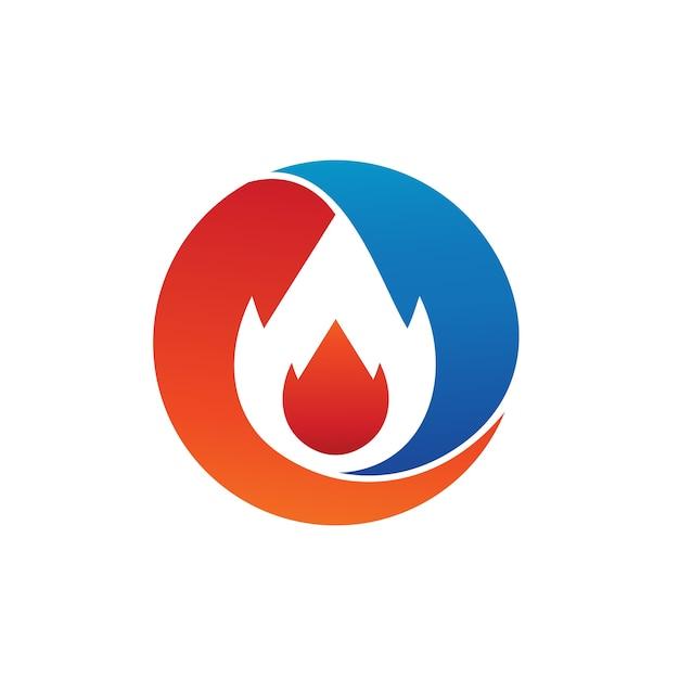 Feuer-logo-vektor Premium Vektoren