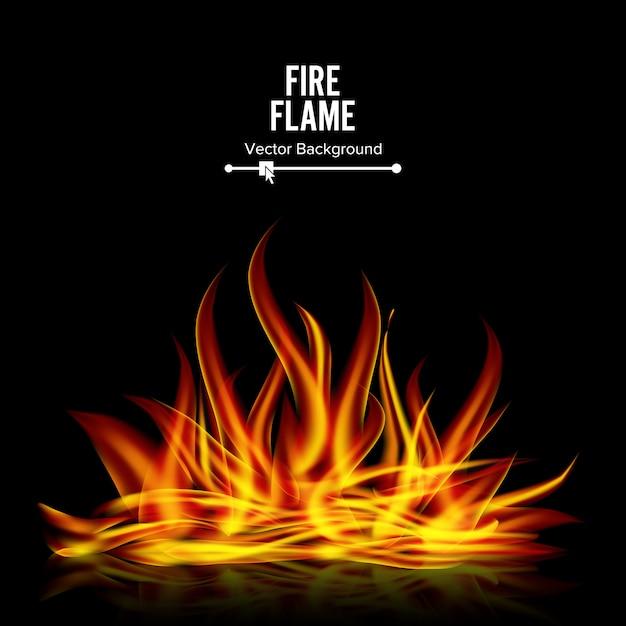 Feuer Premium Vektoren