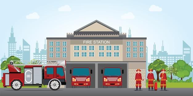 Feuerwehr Premium Vektoren