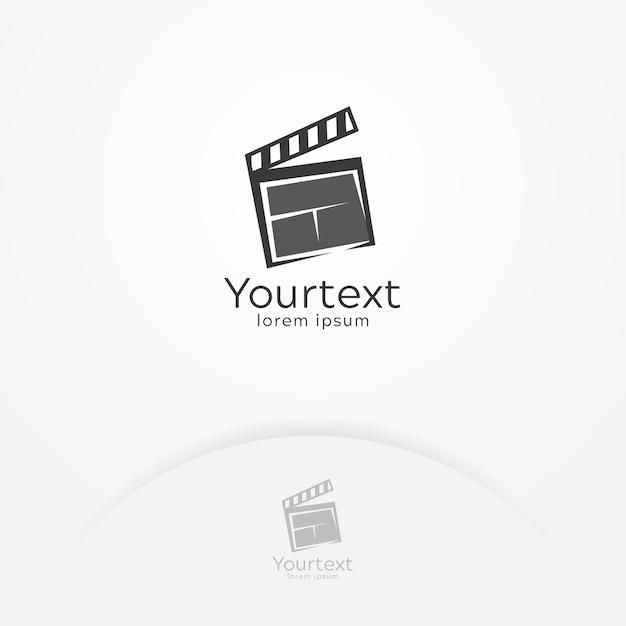 Film-unterhaltung-logo Premium Vektoren