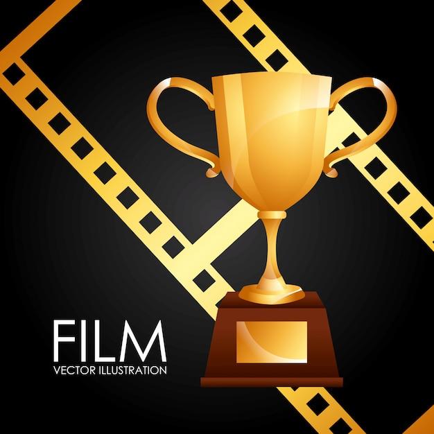 Filmpreis Premium Vektoren