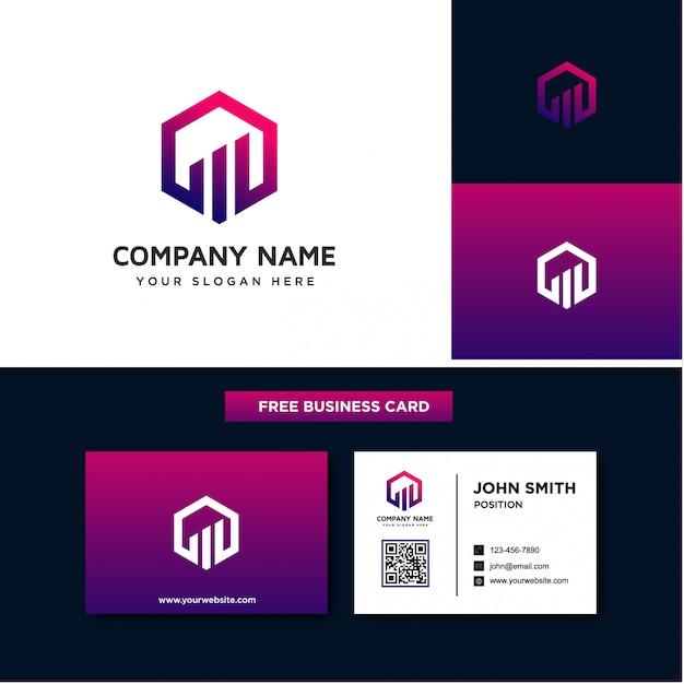 Finanzen business logo vorlagen Premium Vektoren